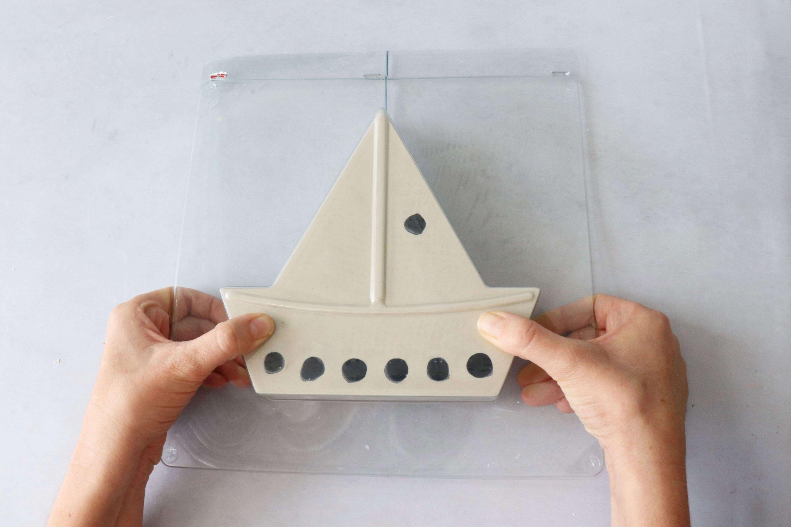 רעיון להכנת חנוכיה מגבס