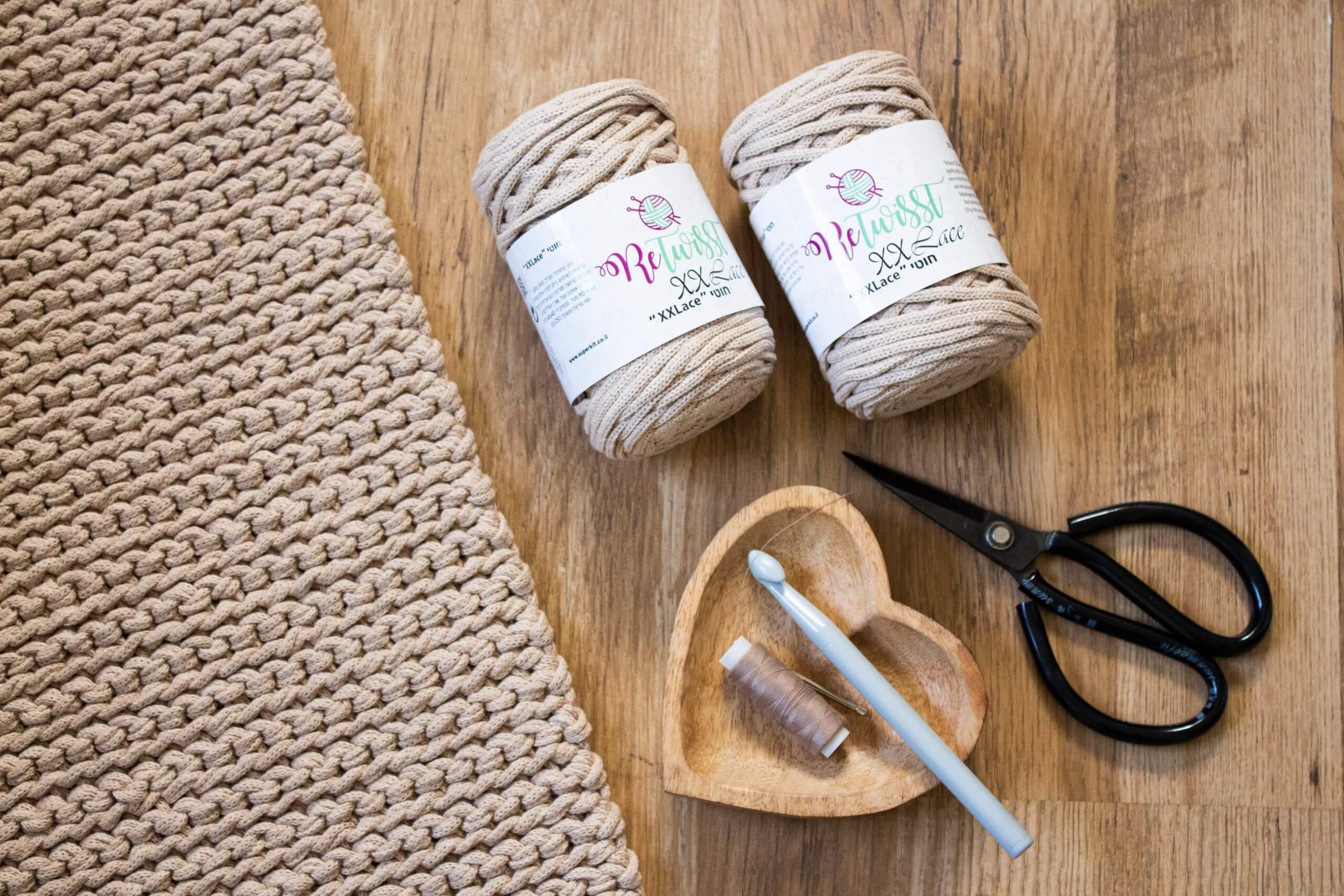 איך לסרוג שטיח