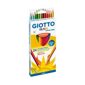 סט עפרונות צבעוניים נטולי עץ