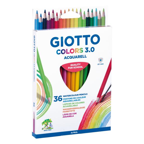 עפרונות צבעוניים אקוורל 3.0