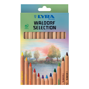 סט עפרונות צבעוניים אנתרופוסופיים וולדורף